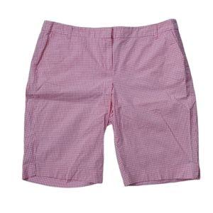 NY & Company Chino Shorts, Pink/White, 18